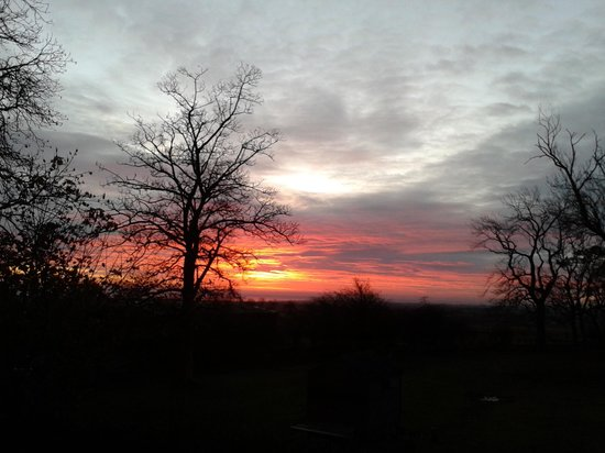 Village Farm: sunrise from townfoot farm