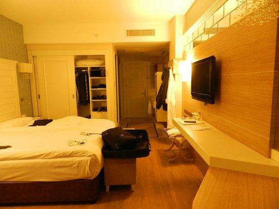 Trendy Verbena Beach Hotel : Chambre confortable
