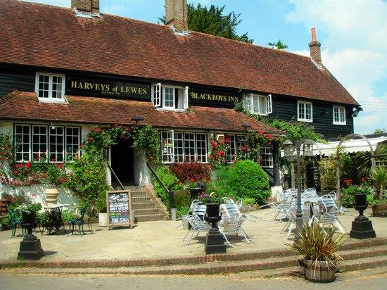 Blackboys Inn, East Sussex in  2012