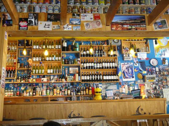 La Luna Restaurant: bar interior do La Luna