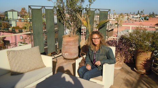 Dar Taliwint : up on the terrace