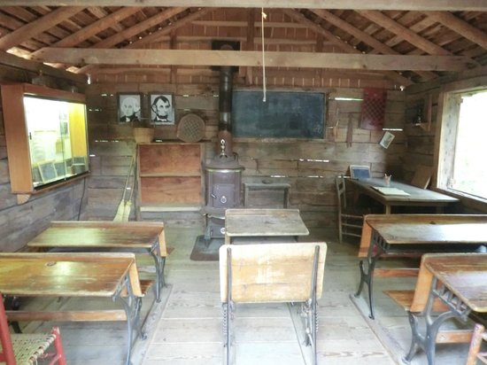An Old Fashioned School Room Picture Of Ozark Folk