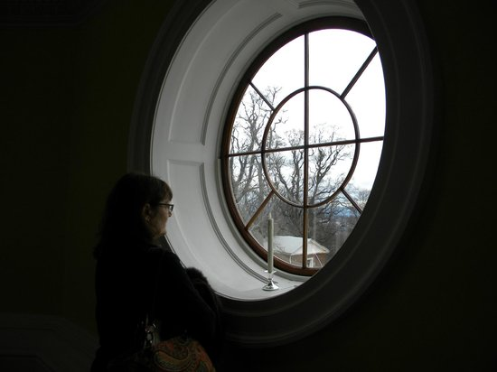 Thomas Jefferson's Monticello: 3rd floor window
