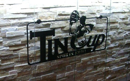 Tin cup bar