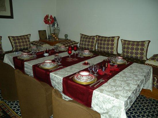 Riad Souafine : Une belle table fin d'année 2011/2012