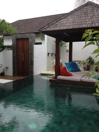 The Trawangan Resort: lovely private 2 bed pool villas