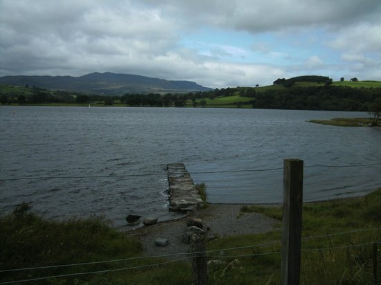 Bala Lake Railway: Views across the lake.