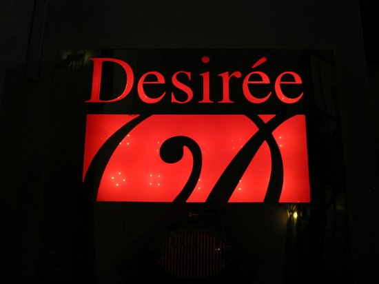 Hotel Desiree: sign