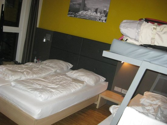 MEININGER Hotel Frankfurt/Main Messe: 4 beds room