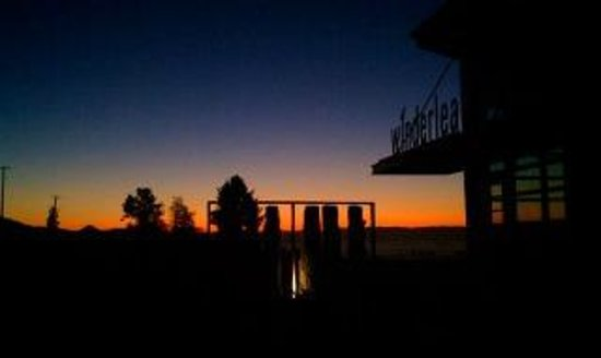 Winderlea Vineyard and Winery: Winderlea at Sunrise