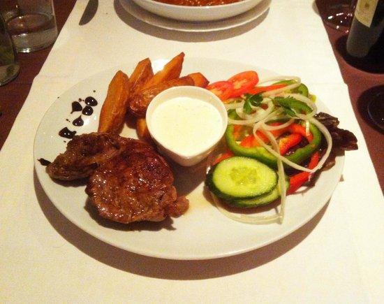 On The Strand: Fillet steak