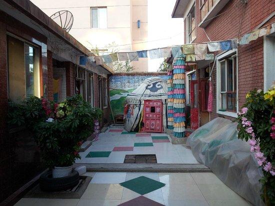 Anda Guesthouse : Courtyard
