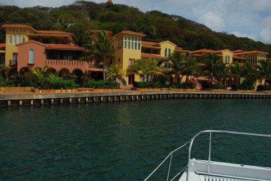 First Bight, Honduras: Condos at the Marina