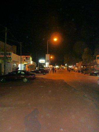 Scala Restaurant : road outside restaurant