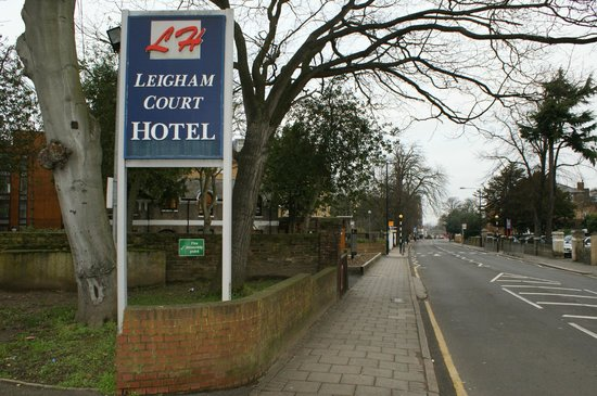 Leigham Court Hotel: Leigham Court Roud