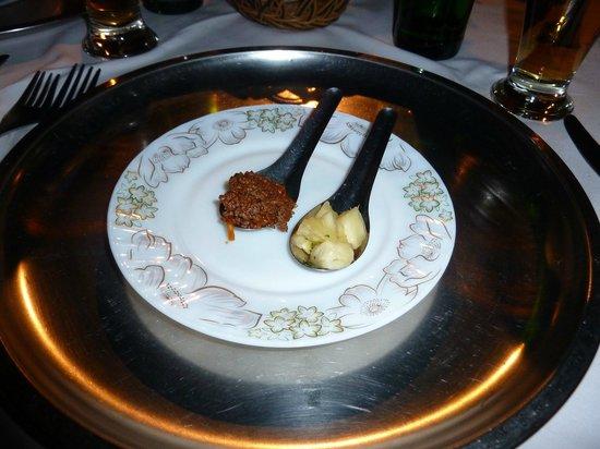 Scala Restaurant: the appetiser