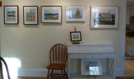 Winding Way Bed and Breakfast: Part of our onsite art gallery