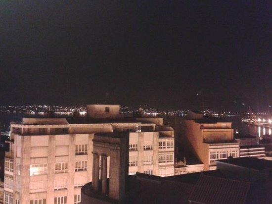Hotel Zenit Vigo: Vistas del Morrazo