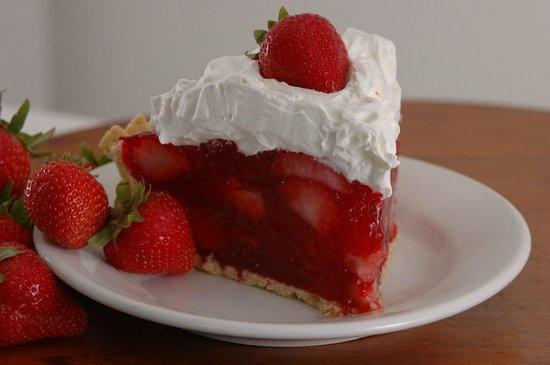 Yoder's Restaurant : Fresh Strawberry Pie