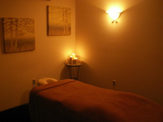 The Massage Center: One of our individual treatment rooms