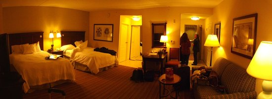 Hampton Inn & Suites Saratoga Springs Downtown: Double Queen Room