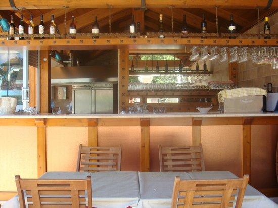 Villaggio Ristoro La Cascata: angolo bar
