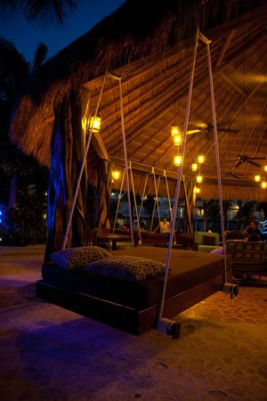 Azul Sensatori Hotel, by Karisma: Swing bed.