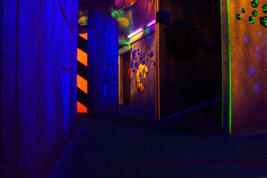 Zone on Waverly - Picture of Zone 3 Laser Games ...