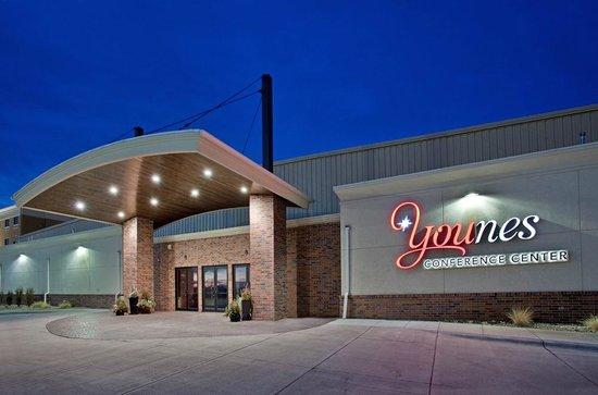 Comfort Inn Kearney: Younes Conference Center where it all happens and across from the Hampton Inn Kearney NE