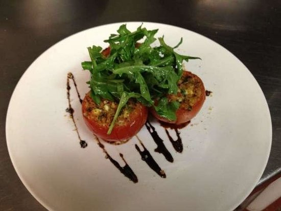 Prairie Ink Restaurant: Stuffed Tomatoes