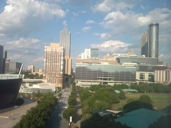 Hilton Garden Inn Atlanta Downtown : View from the room