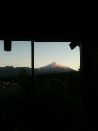 Hotel Patagonia Pucon : vista desde la habitacion