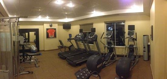 Hilton Garden Inn Panama: Fitnessraum