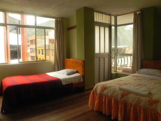 CharVic Hostel : Habitacion en la que me hospede