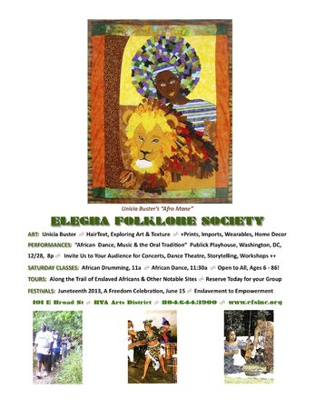 Elegba Folklore Society: In The Beginning... Virginia (Tour)