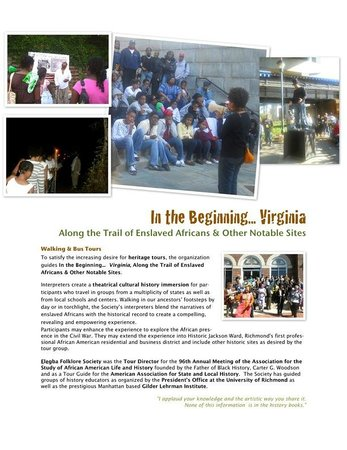 Elegba Folklore Society Info Sheet