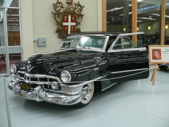 Paraparaumu, Nieuw-Zeeland: *Mickey Cohen's armour plated 1950 Cadillac (*Movie: Gangster Squad)