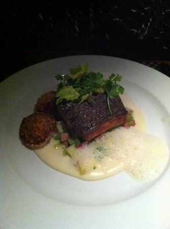 Vermilion Restaurant: rock fish
