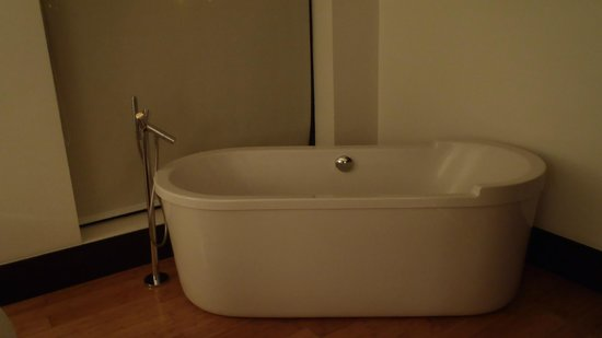 Le Parc Hotel: Bath in room