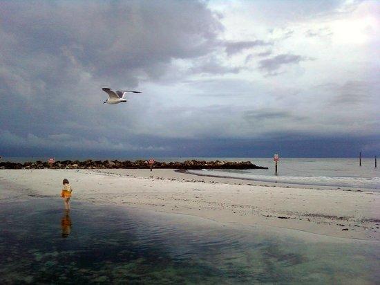 Beachwalk Inn: even stormy days can be nice.