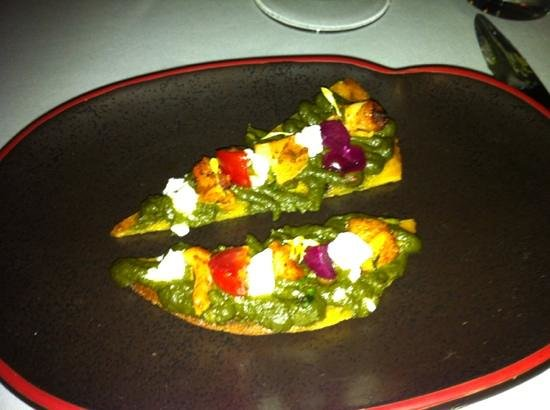 Indian Accent: one of 5 entrees