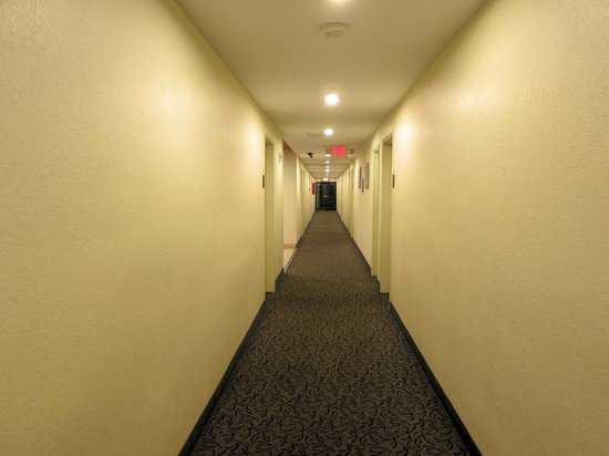 Motel 6 Atlanta Downtown: Interior Hallway for most rooms