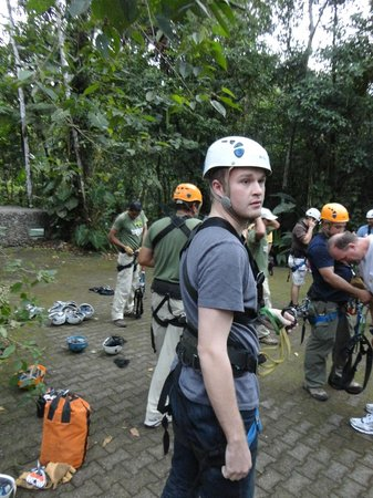 Rainforest Adventures: Zipline prep