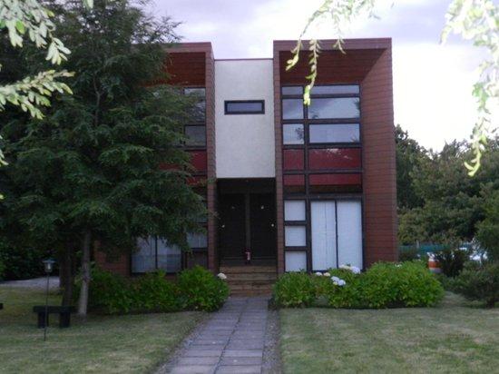Apart Hotel Dos Castanos: Jardin