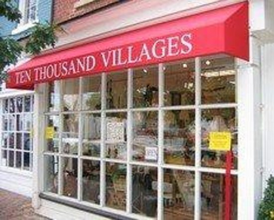 ‪‪Ten Thousand Villages Alexandria‬: Store front‬