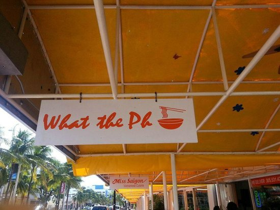 Miss Saigon: Great name for a great spot in Miami Beach.