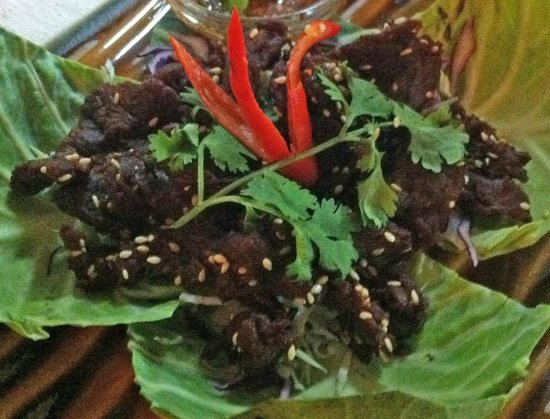 Maya cuisine & Lounge by Jeanette : Slender beef