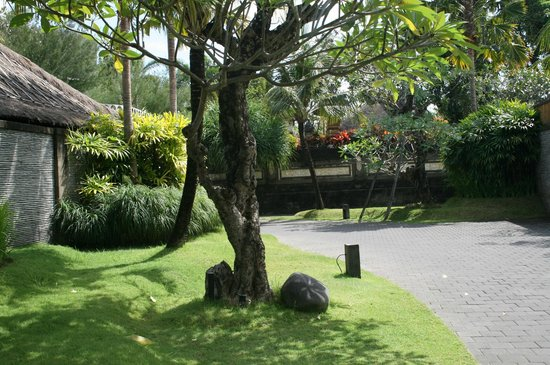 Peppers Seminyak: Landscaped garden path