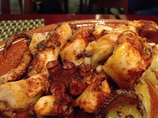Bon Picat Restaurant : pulpo a la gallega
