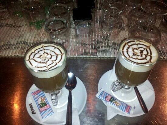 El Patio: irish coffe